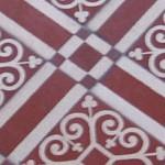 Floor tiles, Angers, France