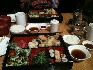 Tempura Sashimi Sushi